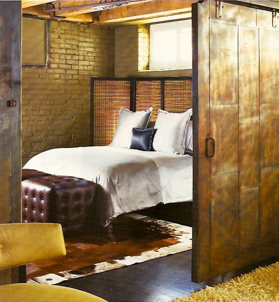 44 best industrial style barn doors and sliding door for Bedroom barn door hardware