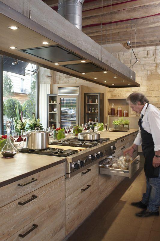 Xaviez Vous Presente La Realisation D Une Cuisine En Chene Old Grey