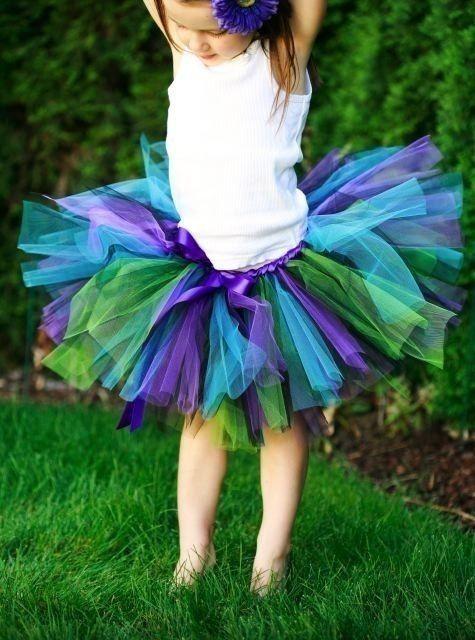 peacock skirt for Erin @Pamela Grace Cabal