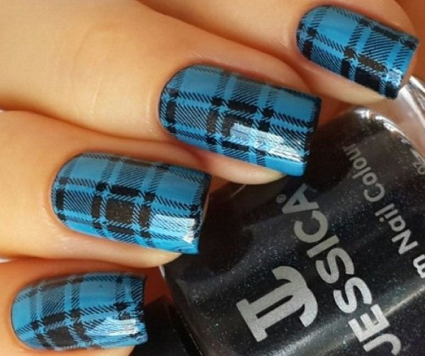 Magnificent Zebra Stripe Nail Art Tiny Nail Polish Nail Solid Best Nail Polish For Weak Brittle Nails Chanel Nail Polish Summer 2014 Young Hello Kitty Nail Arts BlueNail Polish Colour 1000  Ideas About Plaid Nail Art On Pinterest | Plaid Nails, Nails ..