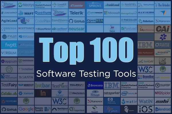100 Software Testing Tools!!! This is a list to check out if you are on a software testing tool hunt and need some resourceful information.