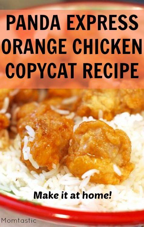 Kids' Favorite Takeout: Copycat Panda Express Orange Chicken Recipe