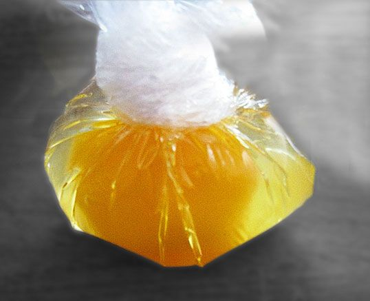 Esta es un receta abreviada que hace menos laboriosa la elaboración de los huevos Benedictine. La salsa holandesa preparada con este método no suele cortarse y resulta muy buena.