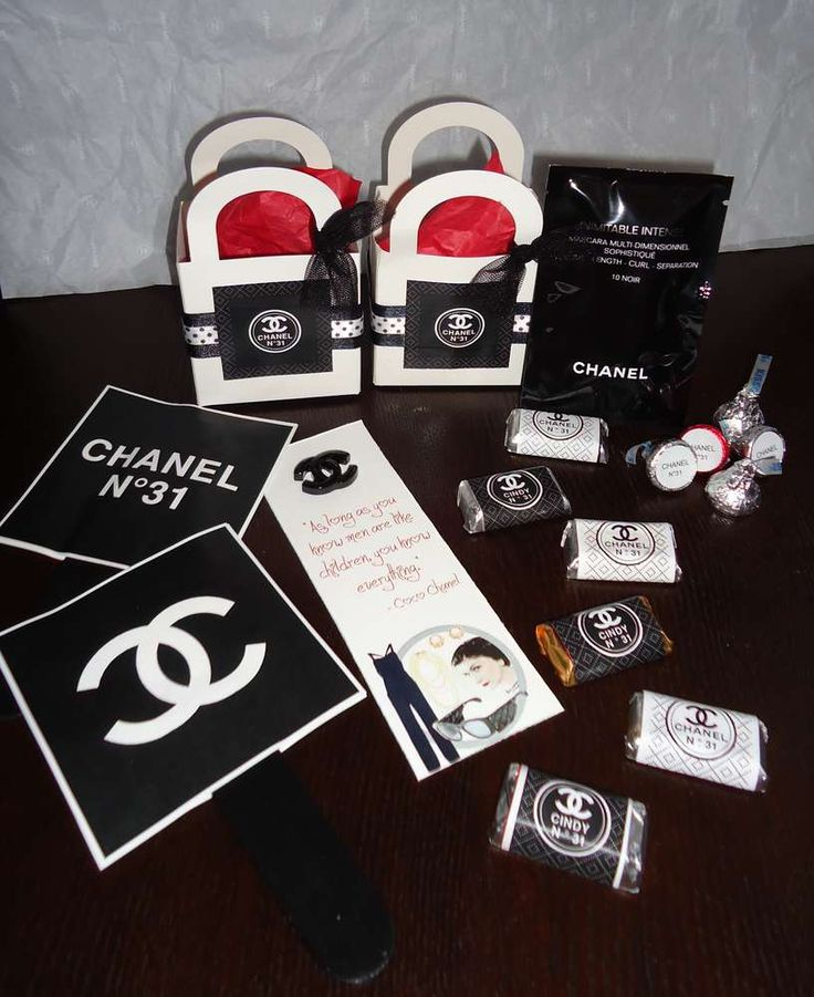 Coco Chanel Birthday Party Ideas   Photo 3 of 13   Catch My Party