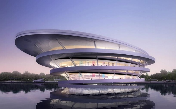 Chongming Bicycle Park by JDS Architects