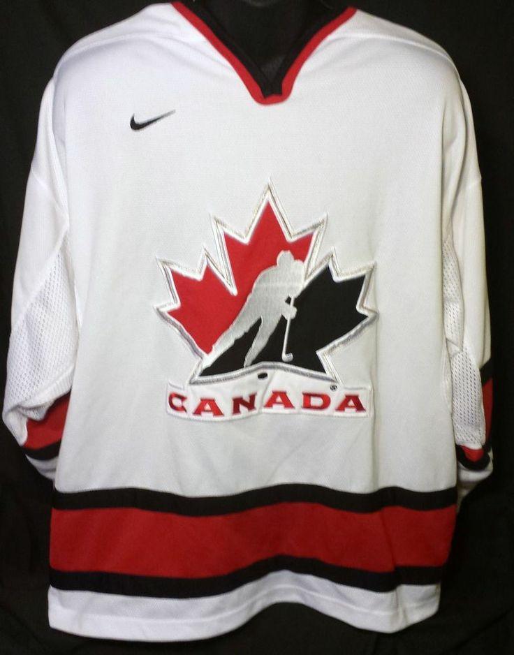 Team Canada Nike Olympic Hockey Jersey Mens Size XL Extra Large #Nike #TeamCanadaHockey