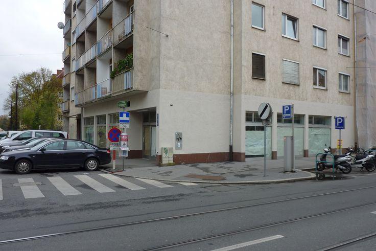 Filiale Nr. 145, Leonhardstraße 56: auch hier versuchte sich lange Jahre noch Schlecker, ein wenig Supermarkt-Flair zu verbreiten