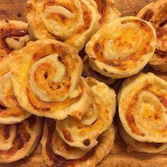 Rolls de jamón y queso libres de gluten! Súper ricos y crocantes para comer cien calentitos recién sacados del horno