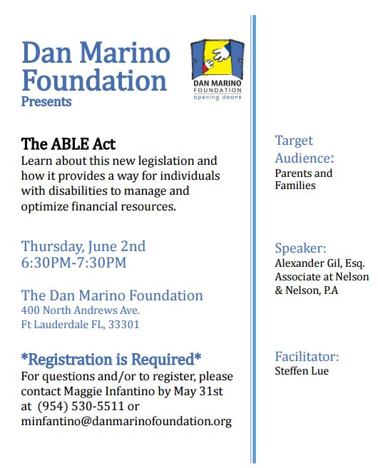 Palm Beach County Autism Resources