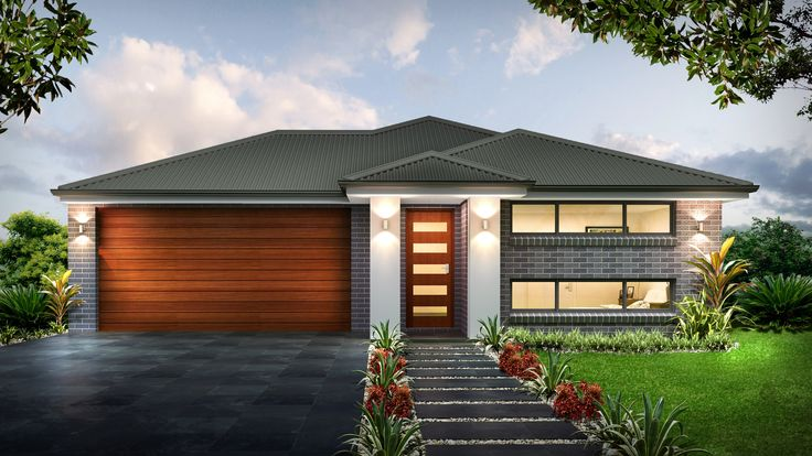 Single Storey House Design The Soho. With 4 Bedrooms, 4