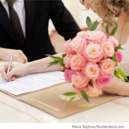 Geheimnis der Ehe Hochzeit in Russland