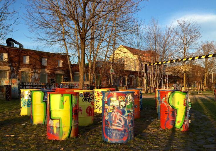 Leipzig Graffiti Town Plagwitz