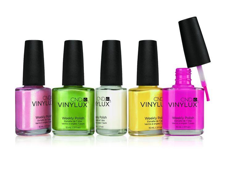 CND Vinylux Zomerse Kleuren, wekelijkse nagellak die sterker wordt door natuurlijk licht. Never done before, binnenkort in Nederland verkrijgbaar nu al te bestellen bij www.menataupe.nl