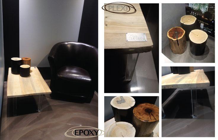 PLEXI cofee table by Pür cachet purcachet.com