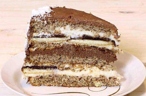 Ako želite veliku tortu za neko vaše slavlje, volite oraahe i jafa keks, sve to umotano u dva krema onda definitivno odaberite jafa tortu. Torta mi je ispala jako visoka, pravila sam je u kalupu prečnika 25 cm, ali je bila sočna, torta slobodno može da se pravo i u većem kalupu, biće nijansku…