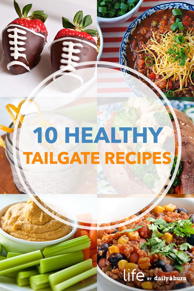 The healthy football tailgate food ideas and recipes you need...now!