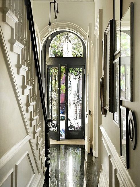 Beautiful front door and entrance area.