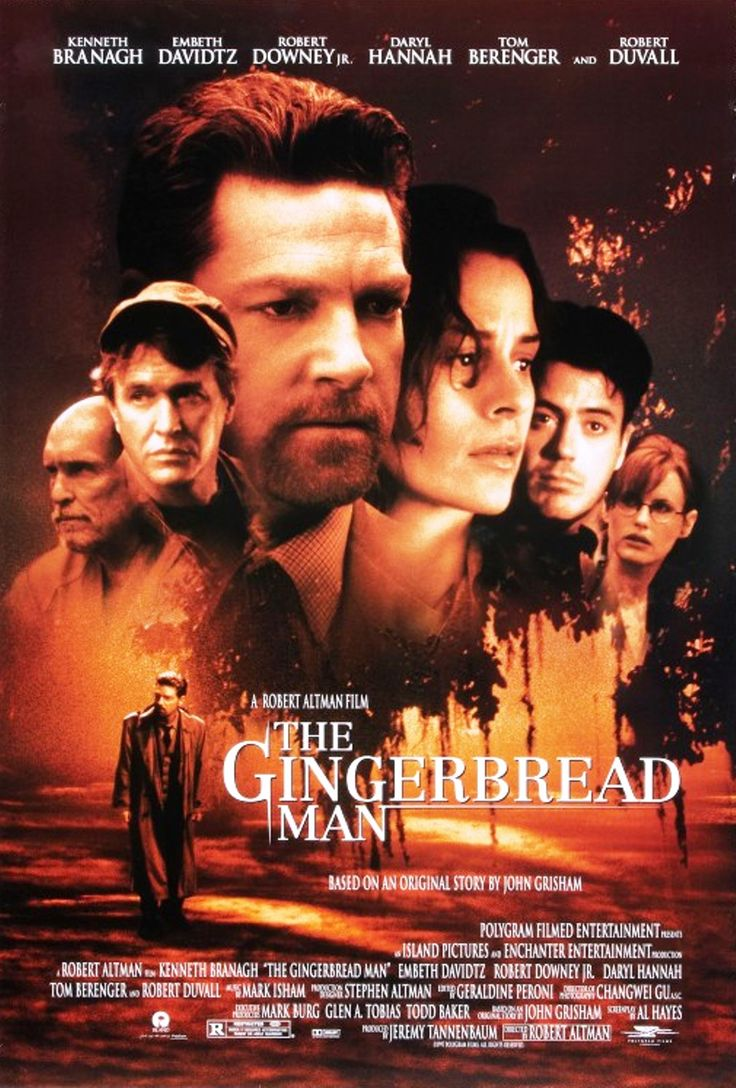 """The Gingerbread Man"" movie poster, 1998."