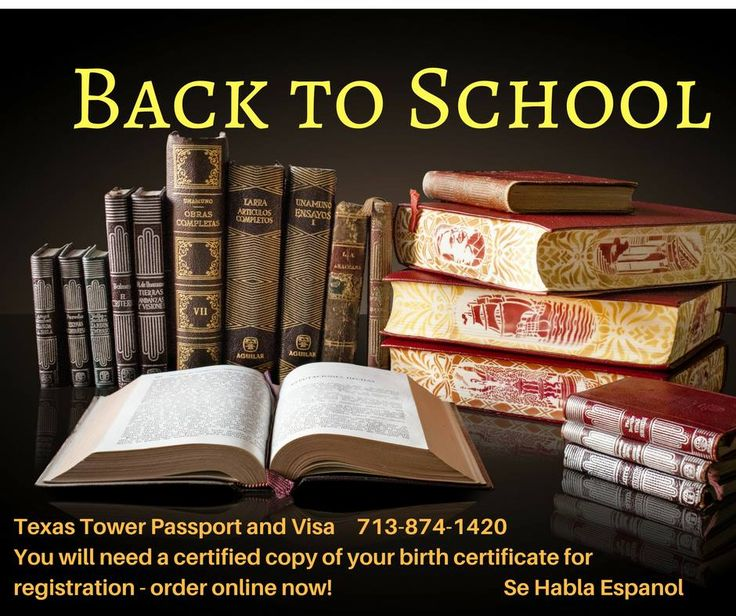 Order a certified copy of your birth certificate for any state! #USBirth #passport #SchoolEnrollment #Education #collegereadiness