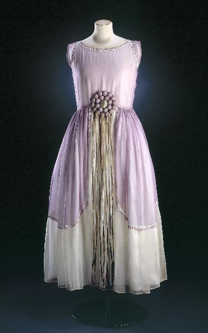 Jeanne Lanvin, Robe de Style, Paris, 1924.