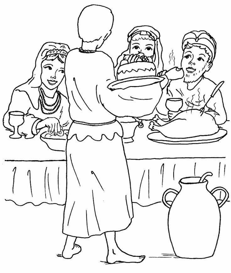 58 best coloring: bible: generic images on pinterest | bible ... - Bible Coloring Pages Prodigal Son