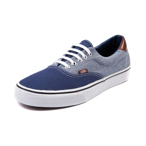 vans era two tone blue grey