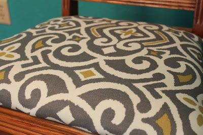 Duck Creek DIY: Antique Dining Room Chair Makeover {With Tutorial} - Bare Feet on the Dashboard