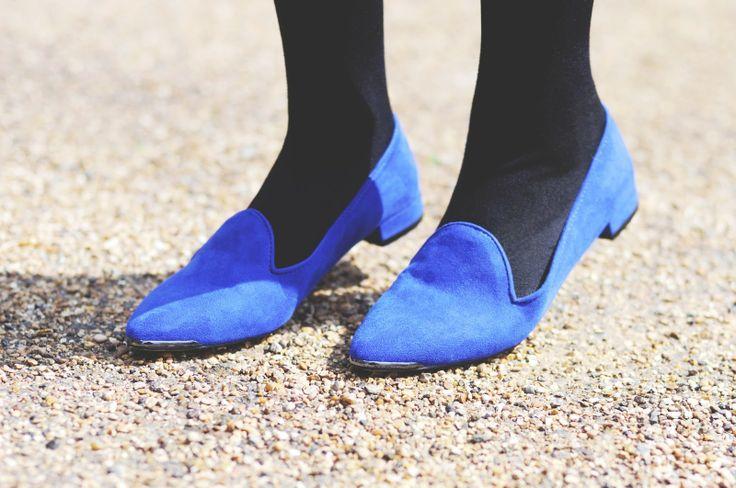 Blue Carvela Shoes