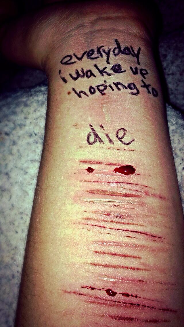 everyday i wake up hoping to die
