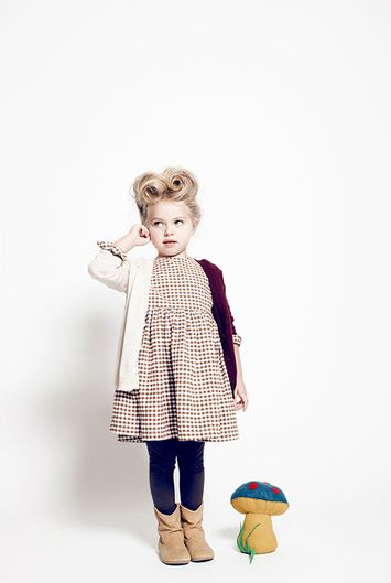 victory rolls #kids #fashion