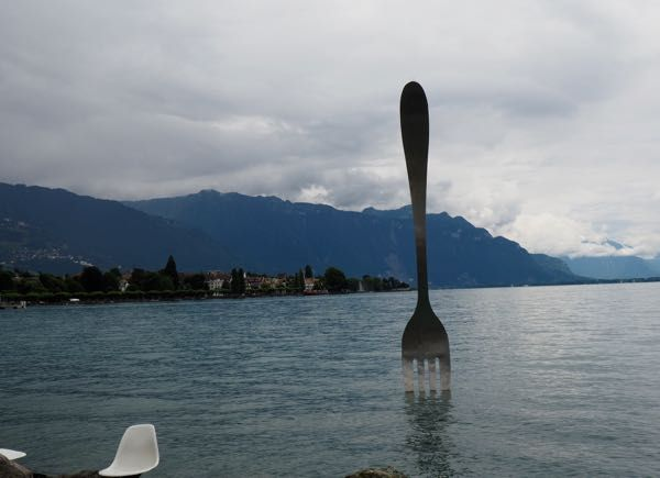 Just a little interesting artwork on the waterfront in Vevey, Switzerland. http://www.francetraveltips.com/france-switzerland-vevey-charlie-chaplin/