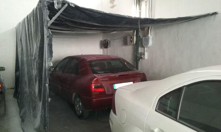 Denunciado por trabajar en un taller ilegal de chapa y pintura de vehículos en Martos