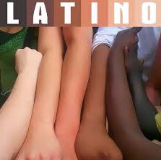 Latino is a culture not a race . Real Hispanics are white European spaniards from Spain who later brought their culture to South America , also mixing with the Indigenous native population creating the typical Latino stereotype look. Which is why the world think if you're not south American looking you're not Hispanic , which couldn't be anymore false . There are many Indian , black , and a lot of white Mexicans,Puerto Ricans,Cubans,Colombians etc. do so do your research before you judge…