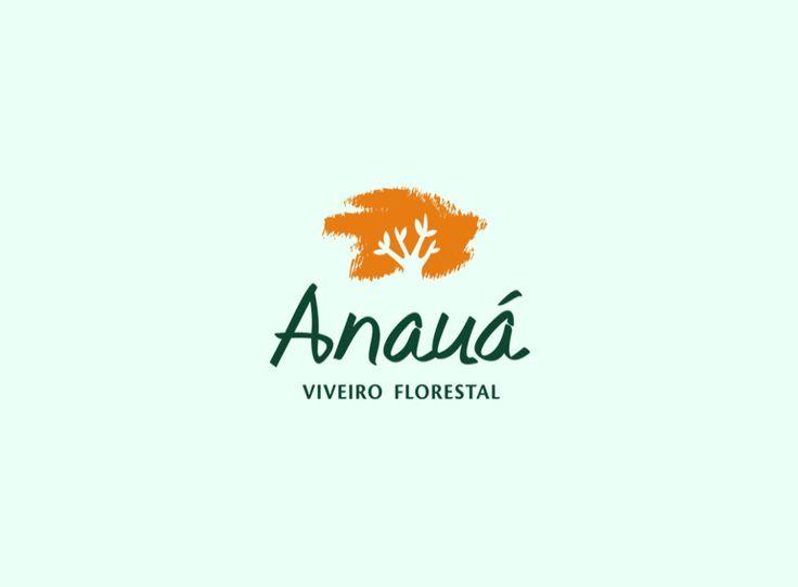 Logotipo Anauá Viveiro Florestal - Projeto Grupo Anaya