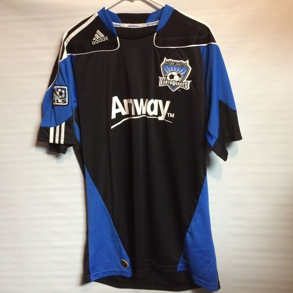 Adidas MLS San Jose Earthquakes Mens Large Jersey Gently worn Adidas San Jose Earthquakes MLS Mens Large Soccer Jersey. In excellent condition no flaws Adidas Tops Tees - Short Sleeve