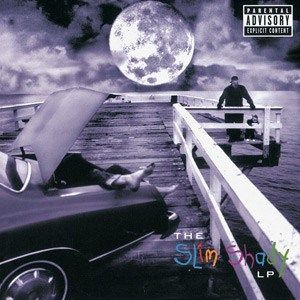 Eminem - The Slim Shady- 2 LP-Sealed-New Record on Vinyl Track Listing - Public Service Announcement - My Name Is - Guilty Conscience - Brain Damage - Paul - If I Had - 97' Bonnie & Clyde - Bitch - Ro