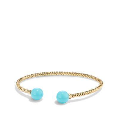 Solari Bead Bracelet in 18K Gold