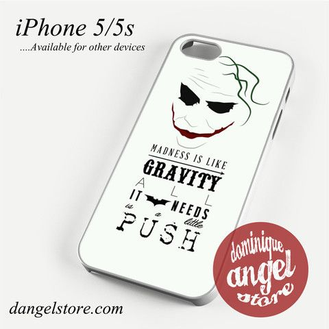 Joker_All needs a little push Phone case for iPhone 4/4s/5/5c/5s/6/6 plus
