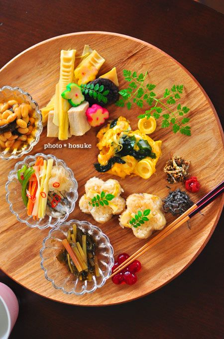 Japanese food / 大豆の煮物、コサン竹の子ご飯 他