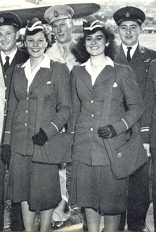 SAA crew in 1947 at Stamford Hill Durban