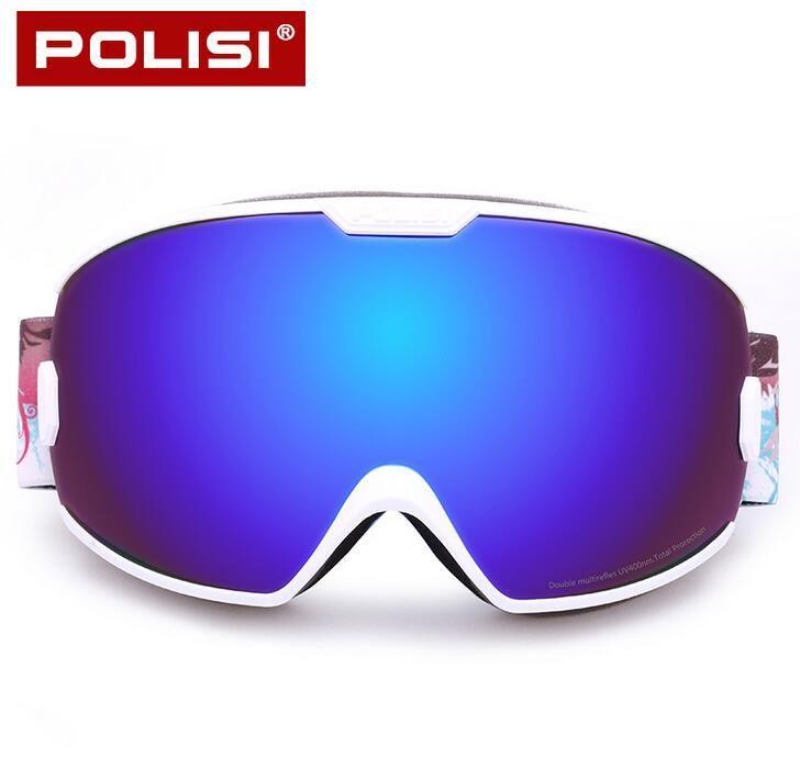 Noir Red Frame Lens Clear Mountain Ski Lunettes de soleil unisexe Ti6yl24xR