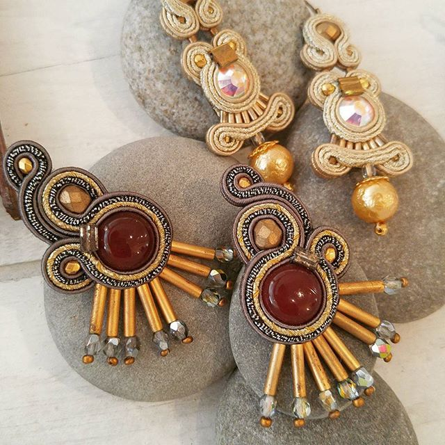 Dori earrings on dispaly at Se Vende Imports, USA #foricsengeri #earrings #jewelry #accessories #golden