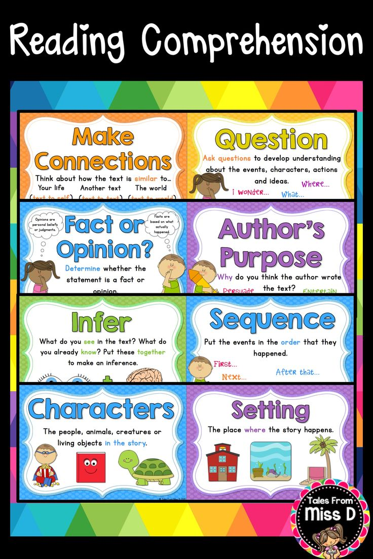 These Reading Comprehension Posters are a bright and colourful addition to any classroom. These 24 posters cover comprehension strategies and skills. Includes; Visualise Make Connections Question Monitor and Clarify Summarise Predict Main Idea Classify an