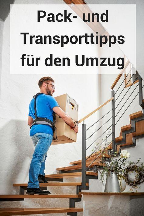 #Magazinbeitrag #Umzug #Transport #Tipps #Packen