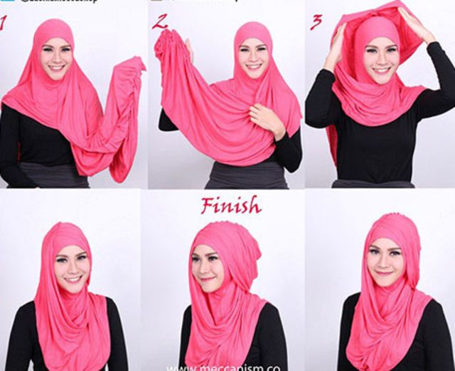 #HijabTutorialZaskiaAdyaMecca