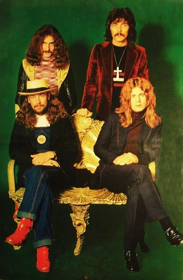 Black Sabbath 1972 (dude, check out Ozzy! stylin')