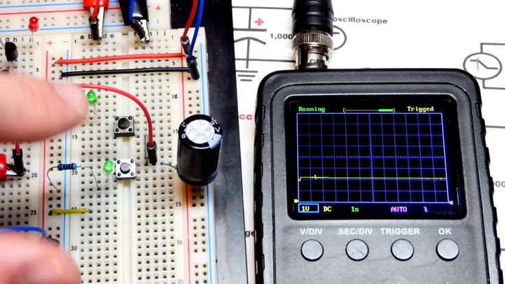 Rc Time Constant Capacitor Charge And Discharge Curve