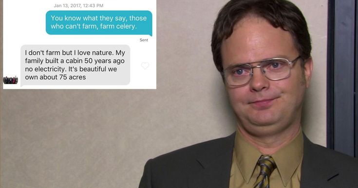 #World #News  Girl convinces a dude that she's a beet farmer using quotes from 'The Office' on Tinder  #StopRussianAggression