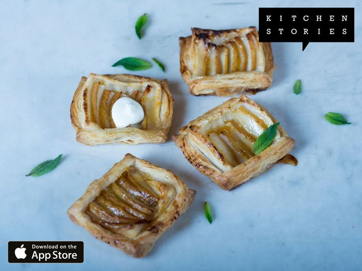 """I am cooking """"Simple pear tart"""" with @1KitchenStories - Download http://itunes.apple.com/app/id771068291"""