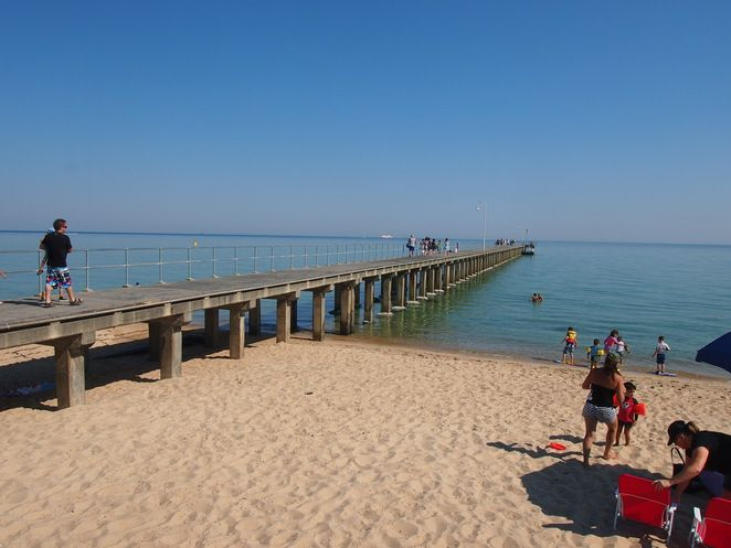 Top 10 Seaside Holiday Destinations in Victoria- Dromana Pier on the Mornington Peninsula